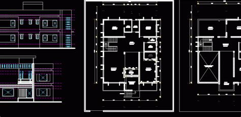 row house dwg block  autocad designs cad