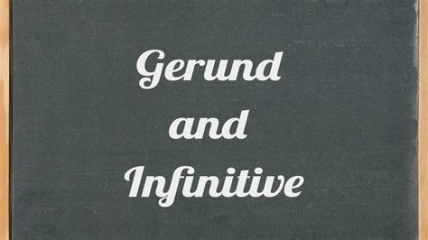 gerund  infinitive english grammar tutorial video