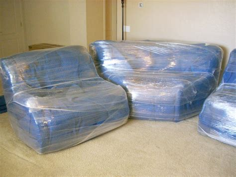 plastic wrap for sofa protect furniture when you move pony express moving services