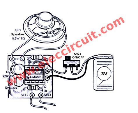 Sound Generator Circuits Electronics Projects