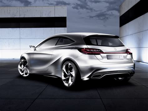 Mercedes Class by Mercedes Concept A Class 2011 Cartype