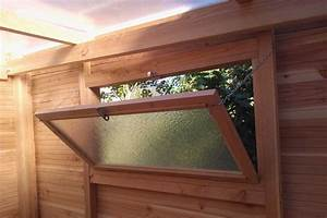 Fenetre De Toit Sur Mesure : abri bois toit translucide couleur jardin ~ Premium-room.com Idées de Décoration