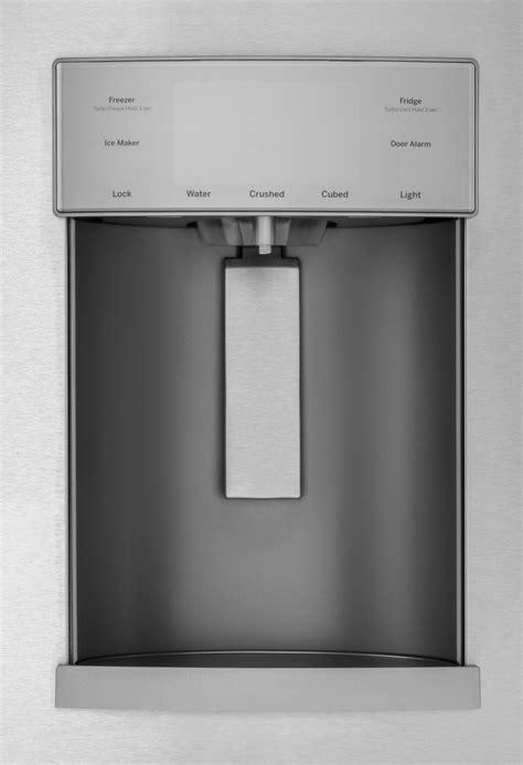 gfdgmles ge   cu ft french door refrigerator door  door slate