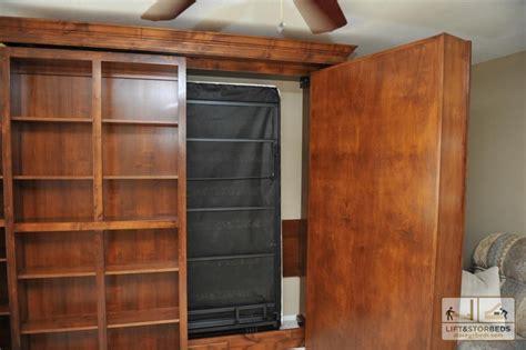 hidden murphy bed bookcase wall unit hiden murphy bed