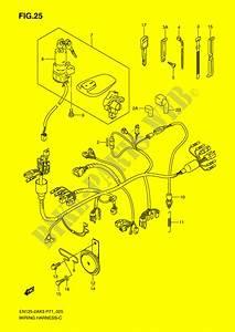 Wiring Harness  En125 2ak3  En125huk4  En125huzk6  For