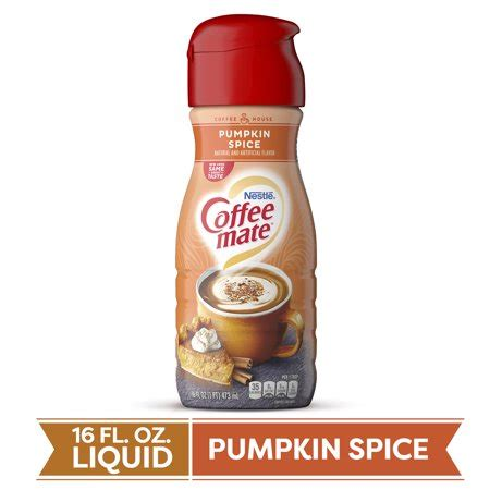 I have only started the gluten free diet recently, and i have been desperately looking for a gluten free, dairy free coffee creamer with some flavor, i really don't care for just soy milk in my. COFFEE MATE Pumpkin Spice Liquid Coffee Creamer 16 Fl. Oz ...