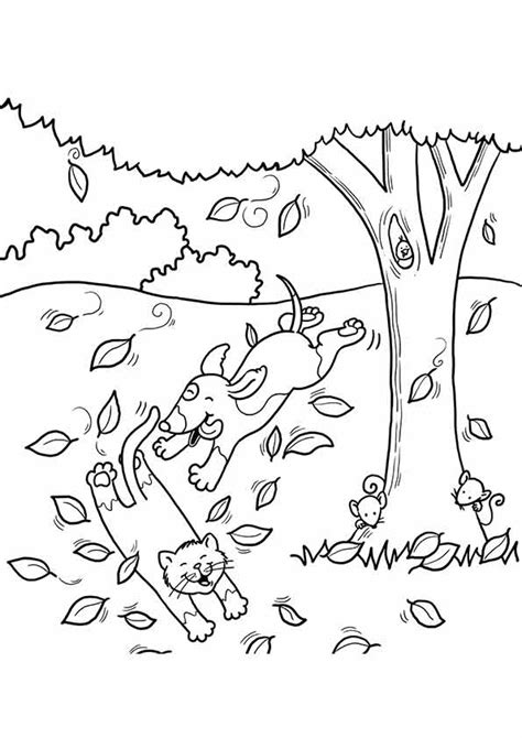 coloring pages fall free printable fall coloring pages for best