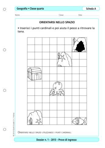 Prove D Ingresso Matematica Scuola Primaria Prove D Ingresso Geografia Classe 4 La Vita Scolastica
