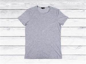 Blank gray t shirt mock up stock photo c peshkov 82207292 for Blank t shirt mockup