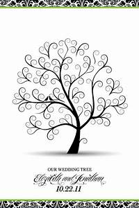 my wedding tree guestbook poster weddingbee photo gallery With wedding tree guest book free template