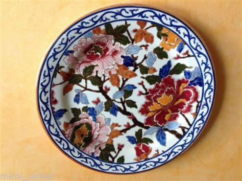 assiette ancienne porcelaine de gien d 233 cor 25 5cm excellent 233 tat assiette