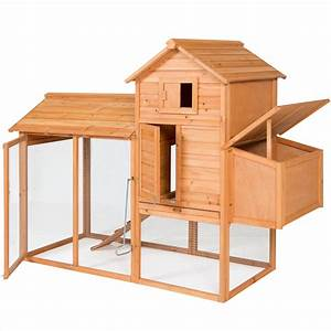 Amazon Com   Best Choice Products 80 U0026quot  Wooden Chicken Coop