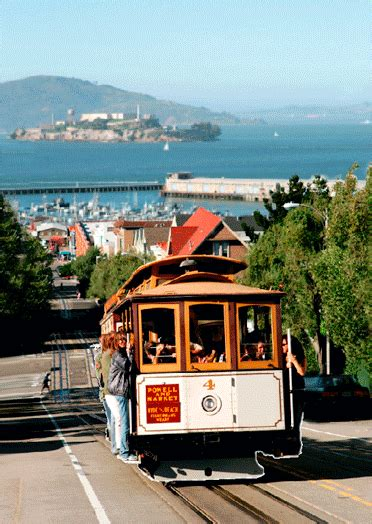 cable car san francisco  postcard greeting card
