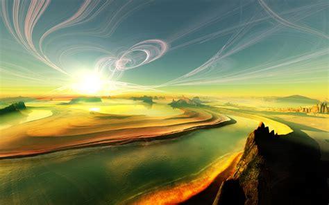 fond d écran hd paysage fantastique paysages