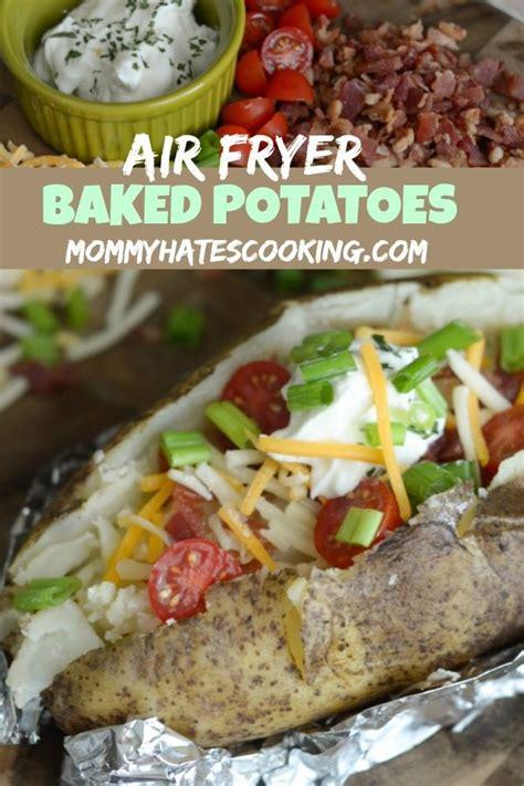 fryer baked air potato recipe potatoes cooking