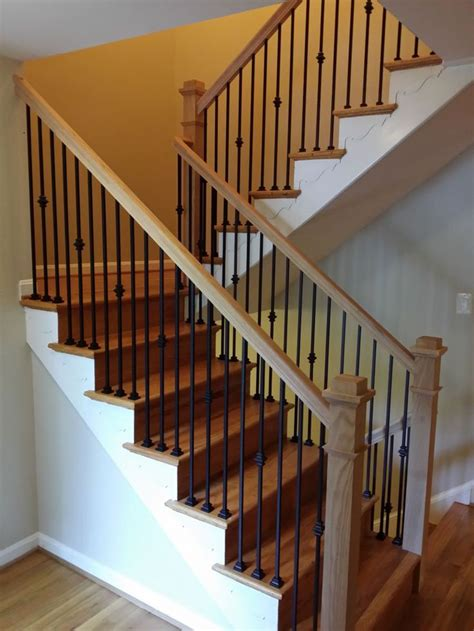 Wrought Iron Banister Rails - the 25 best indoor stair railing ideas on