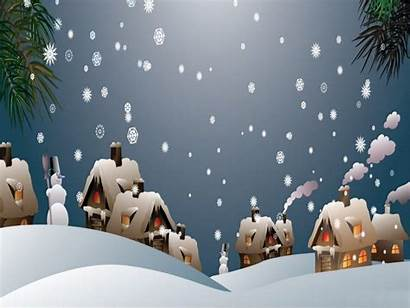 Animated Snowy Christmas Snow Desktop Backgrounds Wallpapers