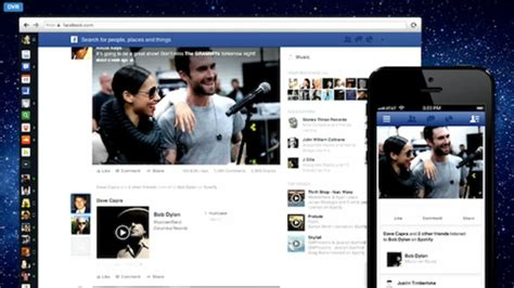 Facebook's News Feed Redesign Will Feature Music-specific