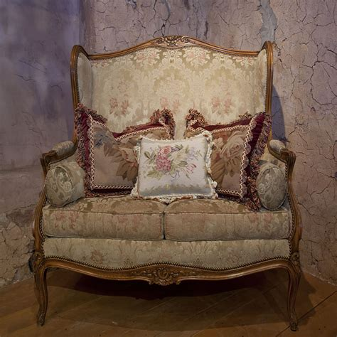 Recovering Settees by Country And Antique Furniture And
