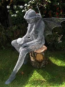 Sculpture De Jardin Contemporaine : derek kinzett est un v ritable ovni dans le monde de l art contemporain et en particulier dans ~ Carolinahurricanesstore.com Idées de Décoration