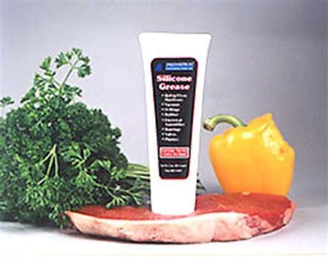 Silicone Grease Food Grade 3 Oz. Description