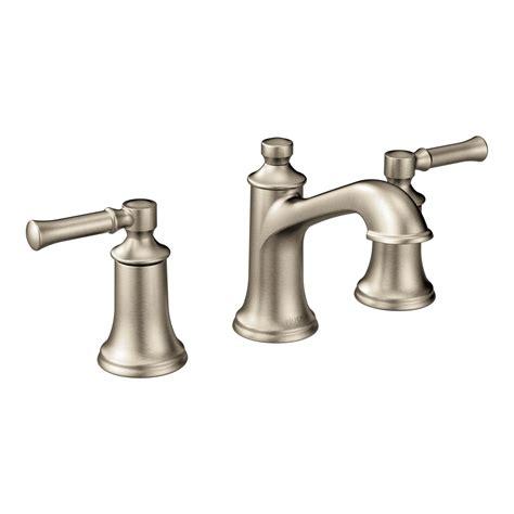 moen tbn dartmoor  handle  arc bathroom faucet