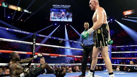 Tyson Fury vs Deontay Wilder 2: Wilder trainer caught out ...