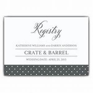bouquet bride registry cards paperstyle With example of wedding registry cards