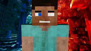 Steve Is Herobrine! Minecraft Wallpaper by AlpinesGraphics ...