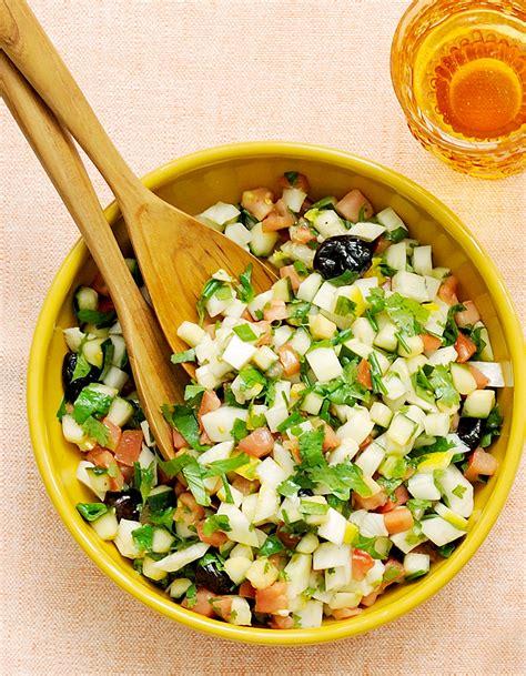 cuisine marocaine salade salade marocaine pour 4 personnes recettes à table