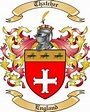 Thatcher Family Crest from England by The Tree Maker