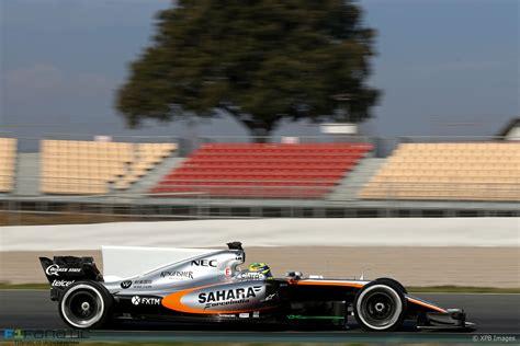 Sergio Perez Force India Circuit De Catalunya 2017 F1