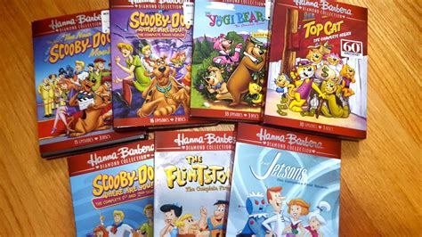 Hanna Barbera Diamond Collection 7 Dvd Set Unboxings