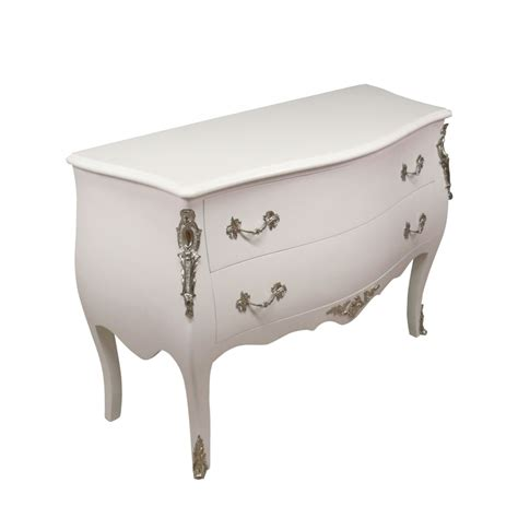chaise baroque blanche commode baroque white chests