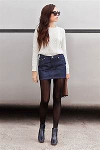 Fashion Trends  Chic Ways to wear tights this Winter