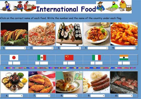foreign cuisine corner 5th grade