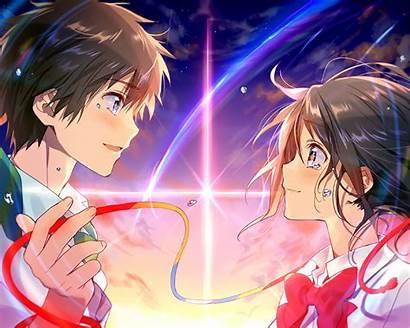 Kimi Na Wa Mitsuha Taki Anime Background