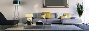 deco de salon quel style est fait pour moi cdiscount With tapis moderne avec plaid tissu canapé