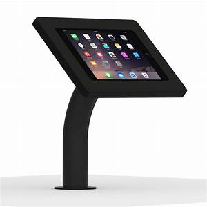 IPad Mini 4 Black Enclosure W Fixed DeskWall Surface