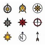 North Icon Points Vector Flaticon Compass Freepik