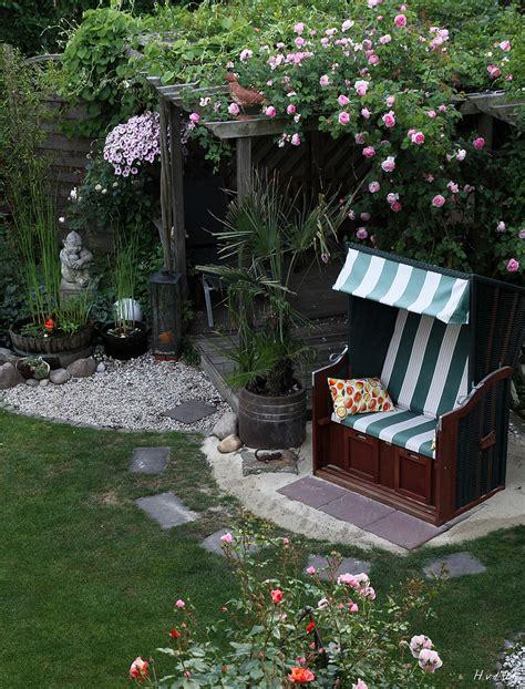 Strandkorb Foto & Bild  Landschaft, Garten