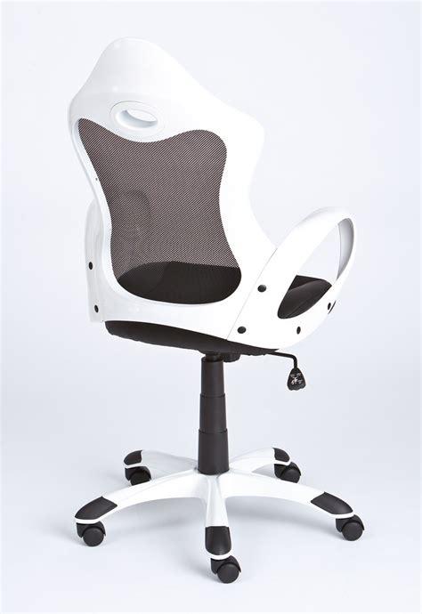 bureau blanc et noir fauteuil de bureau design noir et blanc yak fauteuil de