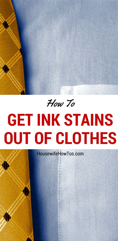 how to get stains out get ink stains out of clothes fresh or old it works