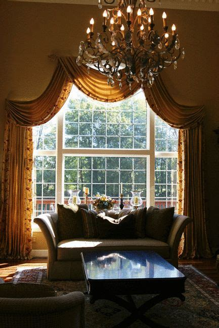arched window curtains ideas  pinterest