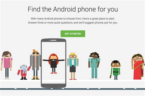 android device finder wants to help you your next android phone