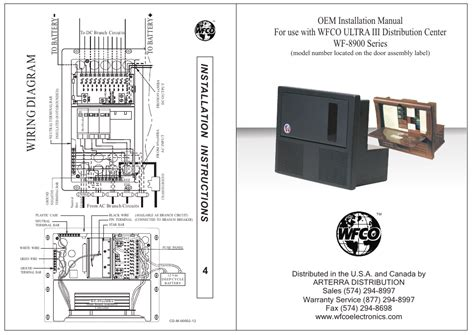 Wiring Diagram 7 Pin U V Canadian by Model Number Located On The Door Assembly Label Wfco Wf