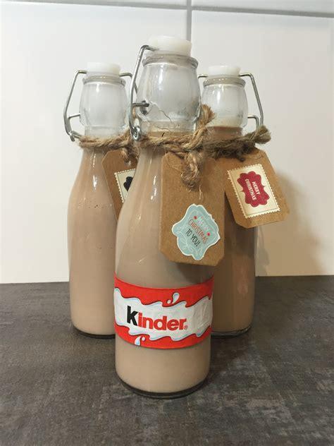 minute geschenk ideekinderschokoladen likoer ue