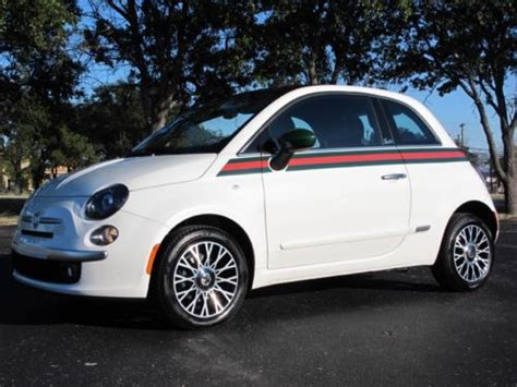 Gucci Fiat 500 For Sale by Sell Used 2013 Fiat 500 Gucci Pre Owned Lifetime Warranty