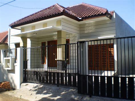 contoh gambar pagar  rumah minimalis gambar