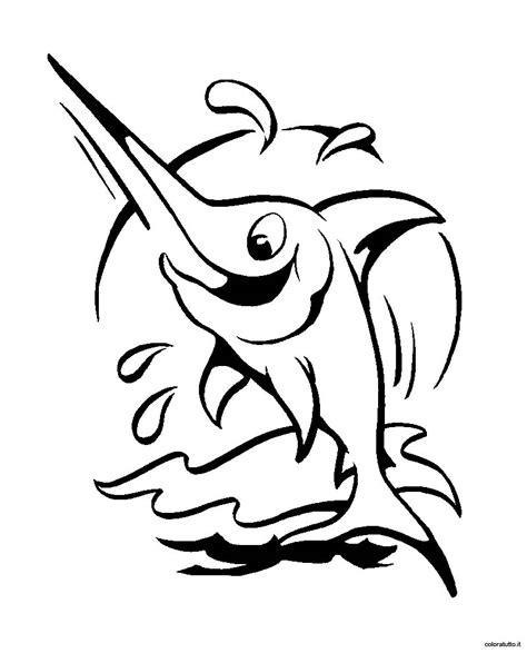 disegno pesce da colorare per bambini pesce spada disegni per bambini da colorare